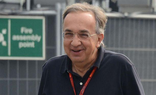 """Sergio Marchionnen mukaan """"kulukatto"""" ei ikinä toimisi formula ykkösissä."""