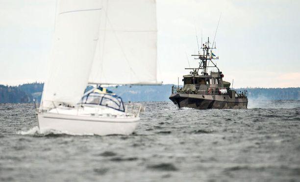 Ruotsin armeija on metsästänyt viime päivinä kuumeisesti mahdollista sukellusvenettä.