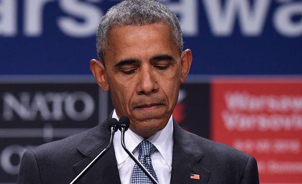 Barack Obama antoi lausunnon Dallasin ampumistapauksen johdosta.