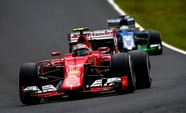 Kimi Räikkösellä on mahdollisuus rikkoa Ferrarin kuparinen Sotshissa, Austinissa ja Abu Dhabissa.