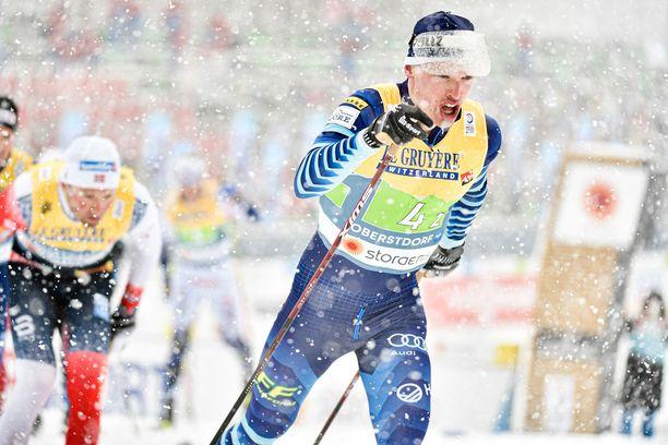 Iivo Niskanen hiihti Suomen kakkososuuden.