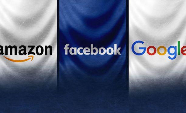 Big Tech -nimitystä käytetään teknologian suuryrityksistä.