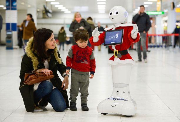 Laulava robotti kertoo myös tarinoita.