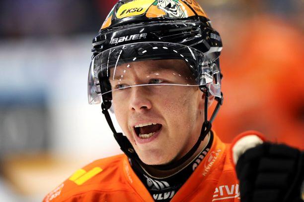 Kim Strömberg oli KooKoon ratkaisija 4-3-voitossa TPS:sta.