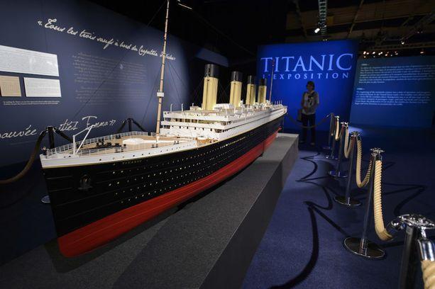 Titanicin pienoismalli oli esillä kolme vuotta sitten Sveitsissä yhdessä yli 200 laivasta peräisin olevan esineen kanssa.
