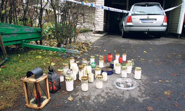 Oulun Kaijonharjussa sattunut perhesurma koskettaa koko naapurustoa.