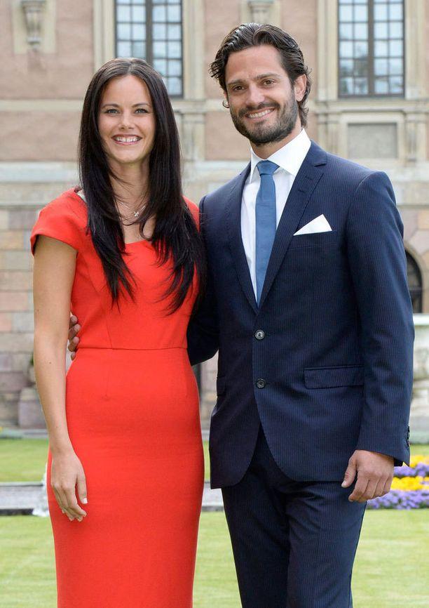 Prinssi Carl Philipin ja Sofia Hellqvistin häitä vietetään Ruotsissa 13. kesäkuuta.