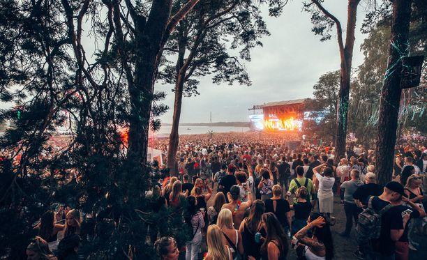 Weekend-festivaalin tunnelmaa vuonna 2018.