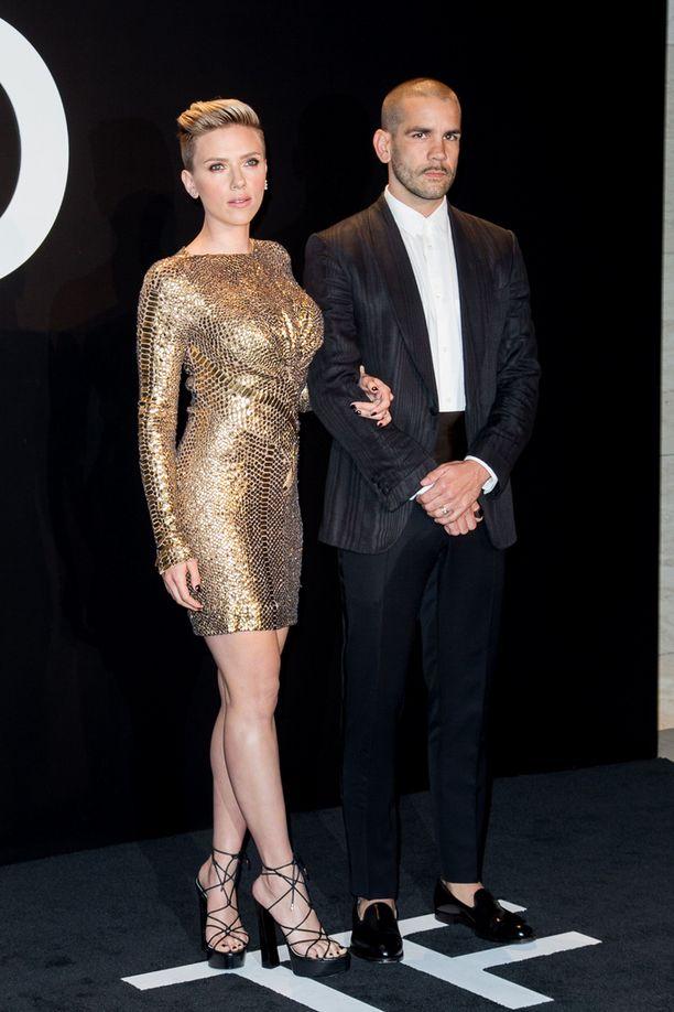 Johansson ja Dauriac vuonna 2015.