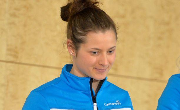 Jenni Hiirikoski ratkaisi ottelun.