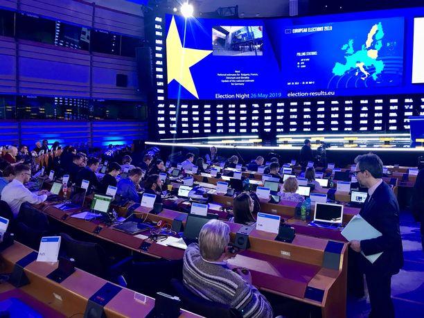 Ainakin seuraavat viisi vuotta EU-myönteiset voimat ovat selkeässä enemmistössä EU-parlamentissa.