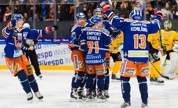 Tappara kohtaa välierissä HIFK:n.
