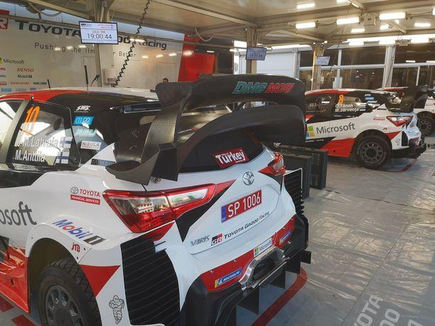 Tältä näyttää Jari-Matti Latvalan Toyotan uusi takasiipi.