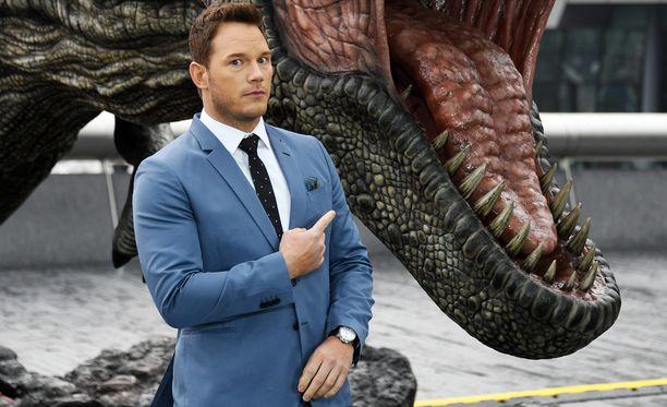 Chris Pratt tähdittää Jurassic World -elokuvia.