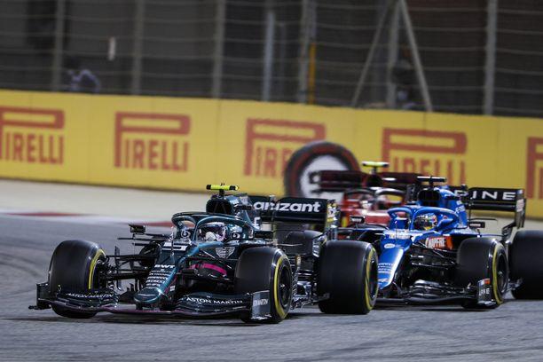 Sebastian Vettelillä oli tapahtumarikas kilpailu.