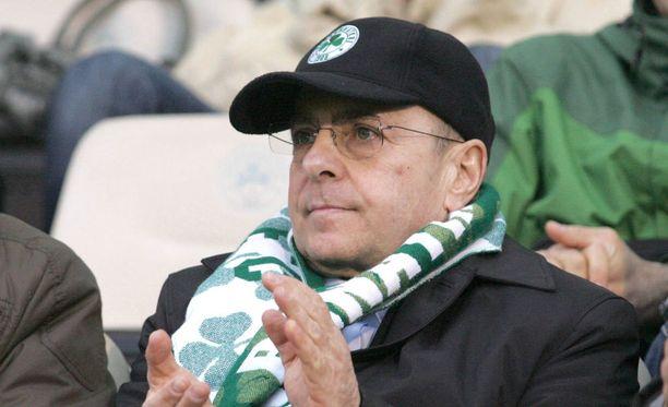 Giannis Alafouzos jättää Panathinaikosin.