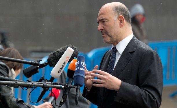Talouskomissaari Pierre Moscovici sanoo RTL:n haastattelussa, ettei Kreikka-sopu ole enää kaukana.