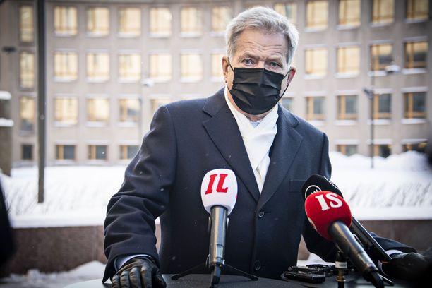 Tasavallan presidentti Sauli Niinistö uskoo, että Venäjällä jatkuvat mielenosoitukset, joissa venäläiset vaativat itselleen ihmisoikeuksia ja demokratiaa.