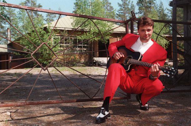 Tällaisena me Isto Hiltusen muistamme. Kuva vuodelta 1996.