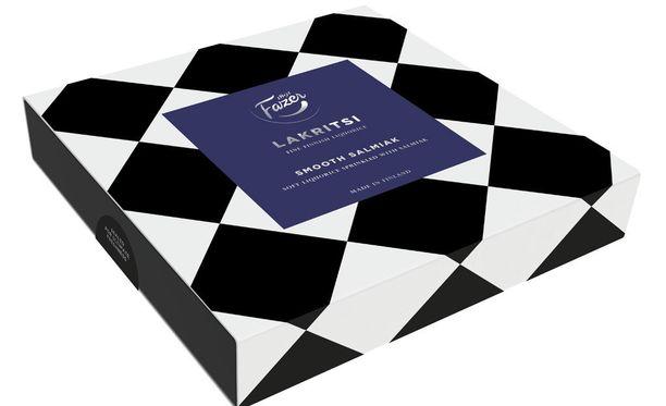 Mustavalkoisissa pakkauksissa on Pentagon Designin Pia Thurmanin suunnittelemat kuosit.