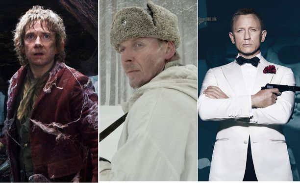 Tuntematon sotilas, 007- ja Hobitti-elokuvat valloittivat kärkikymmenikön vuosikymmenen katsotuimpien elokuvien listalla.