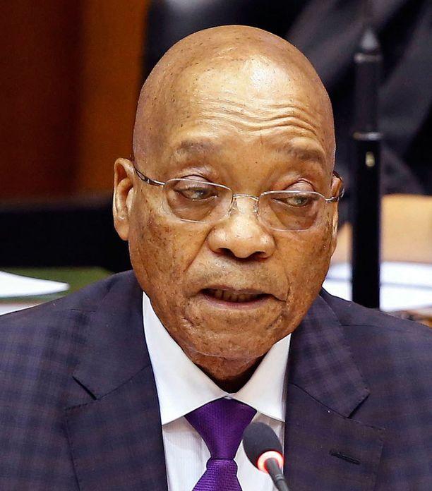 Jacob Zuman koti remontoitiin hulppeasti.