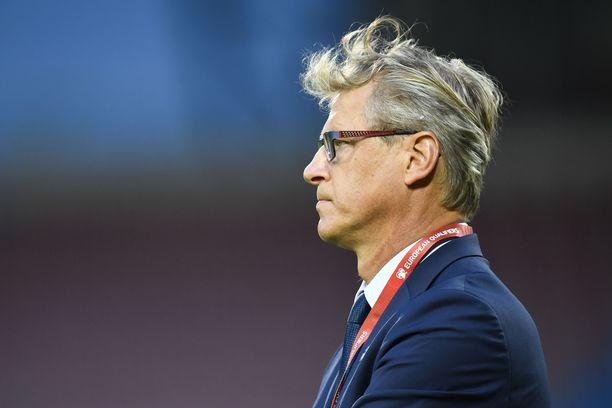 Päävalmentaja Markku Kanervalla riittää pohdittavaa.