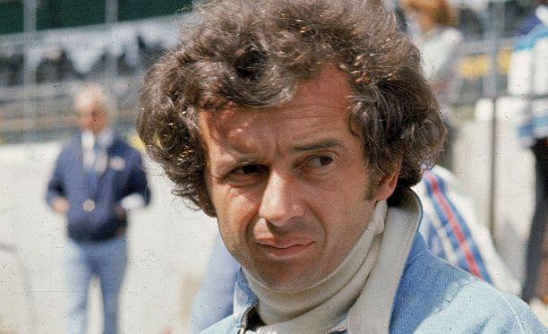 Jean-Pierre Beltoise on poissa.