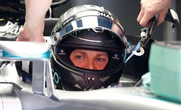 Nico Rosberg oli harjoitusten nopein.