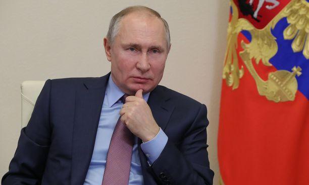 Venäjän presidentti Vladimir Putin ei ole vielä ottanut hehkuttamaansa koronarokotetta.