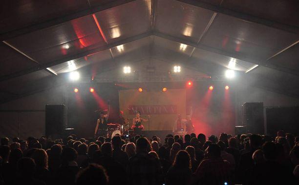 Martina esiintyi Puumalan Siltakemmakat-tapahtumassa viikonloppuna.