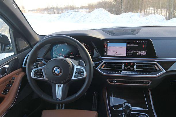 BMW:n uusi kojelaudan ilme näyttää tältä.