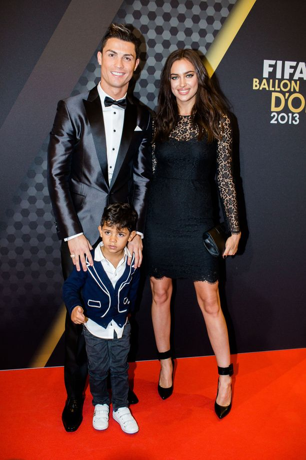 Tammikuussa 2014 Cristiano Ronaldolla ja Irina Shaykilla oli vielä kaikki hyvin.