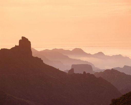 Näkymä Pico de las Nievesin huipulta on mykistävä.