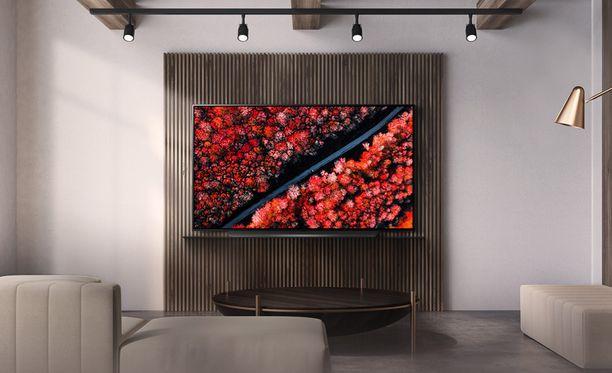 LG OLED55C9 -television kuvanlaatu oli testatuista paras.