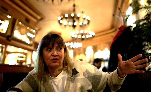 Vesna Vulovic oli maailman korkeimmasta pudotuksesta hengissä selvinnyt ihminen. Kuva helmikuulta 2008.
