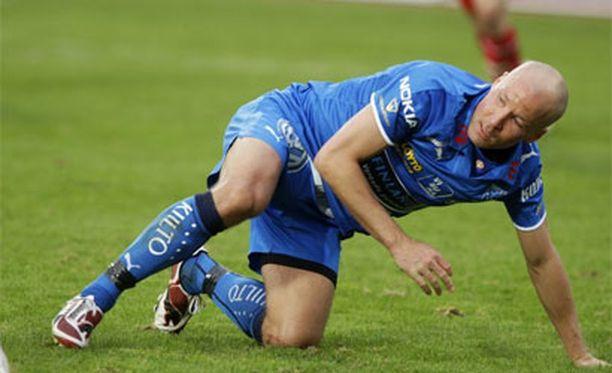 Antti Pohja on 87 osumallaan Veikkausliigan nykypelaajien maalitilastossa kakkosena heti Rafaelin jälkeen.