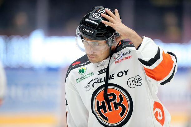 Niclas Lucenius iski 3-2-voittomaalin HPK:lle, kun jatkoaikaa oli pelattu Jyväskylässä minuutti ja 46 sekuntia.