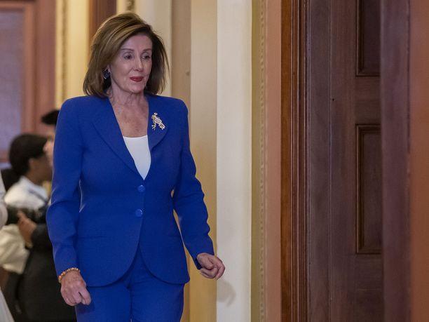 Puhemies Nancy Pelosi kertoi äänestyksestä keskiviikkona.