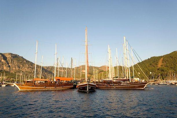 Goulet-aluksilla purjehtivia hemmotellaan täysihoidolla.