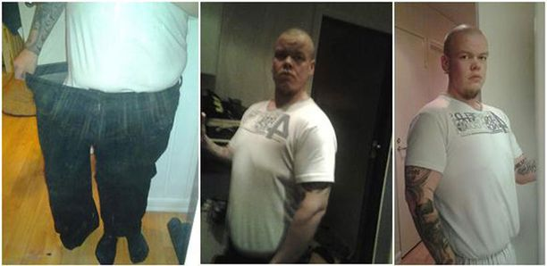 70 kiloa laihempana vuonna 2013.