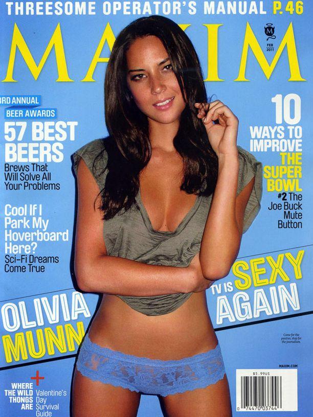 Olivia Munn on myös miesten mieleen.
