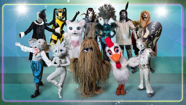 Masked Singer Suomi alkaa lokakuussa, mutta uuden kauden esittelyjakso nähdään 12. syyskuuta.