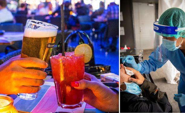 Heidi's Bier Bareissa on altistuttu kolmessa eri kaupungeissa. Kuvituskuva.