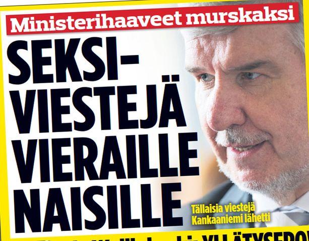Pitkän linjan poliitikko Toimi Kankaanniemi (ps) on parhaillaan viestittelykohun keskellä.
