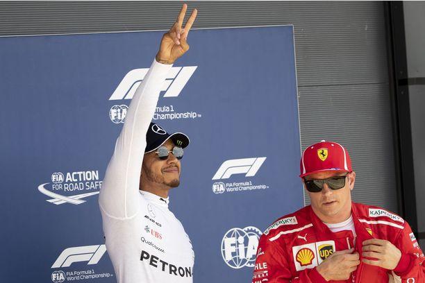 Lewis Hamiltonin ja Kimi Räikkösen kolari on puhuttanut. Räikkönen sai kolarista kilpailussa 10 sekunnin aikarangaistuksen.
