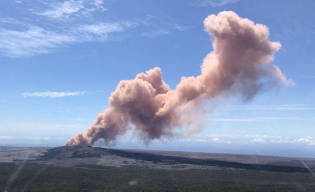 Kilauea on ollut hyvin aktiivinen jo 30 vuotta.