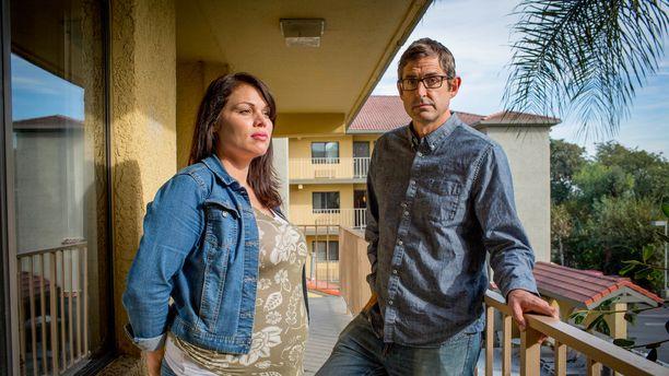 Louis tapaa dokumentissaan Patrician, joka aikoo antaa lapsensa adoptoitavaksi.
