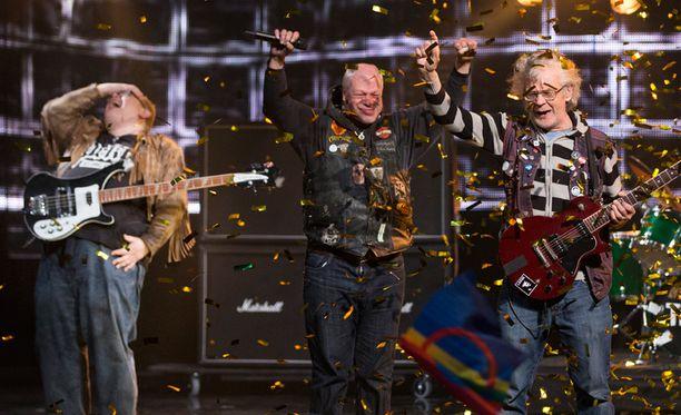 Pertti Kurikan Nimipäivät edustaa Suomea Euroviisuissa toukokuussa.