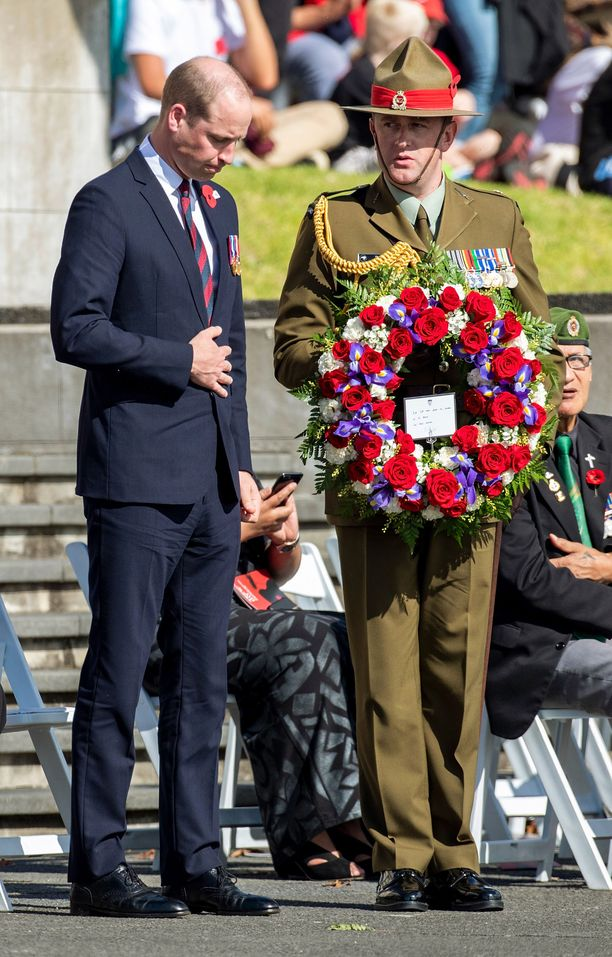Prinssi William tapasi lukuisia ihmisiä Uuden-Seelannin vierailullaan.